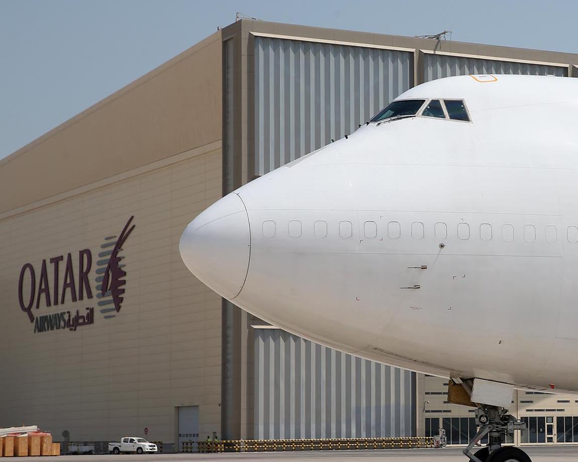 Cikkünk megjelenése idején a Qatar Cargo első 747-eséről közölt, egyelőre egyetlen hivatalos fotó. (Fotó: Qatar Airways) | © AIRportal.hu