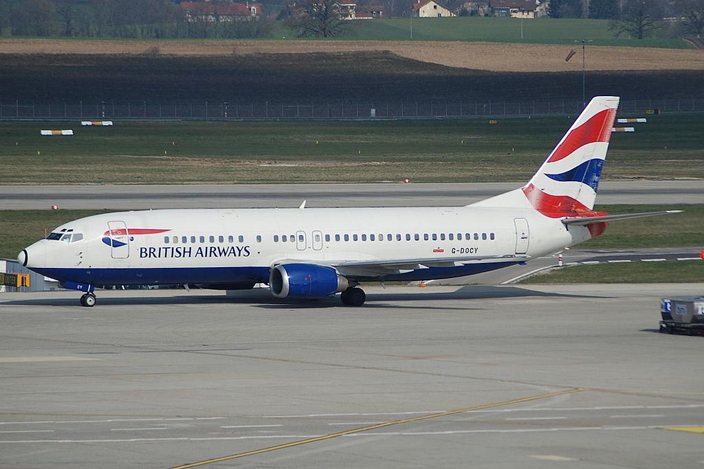 British Airways Boeing 737-400 Zürichben 2007-ben.(Fotó: AeroIcarus - Wikimedia) | © AIRportal.hu