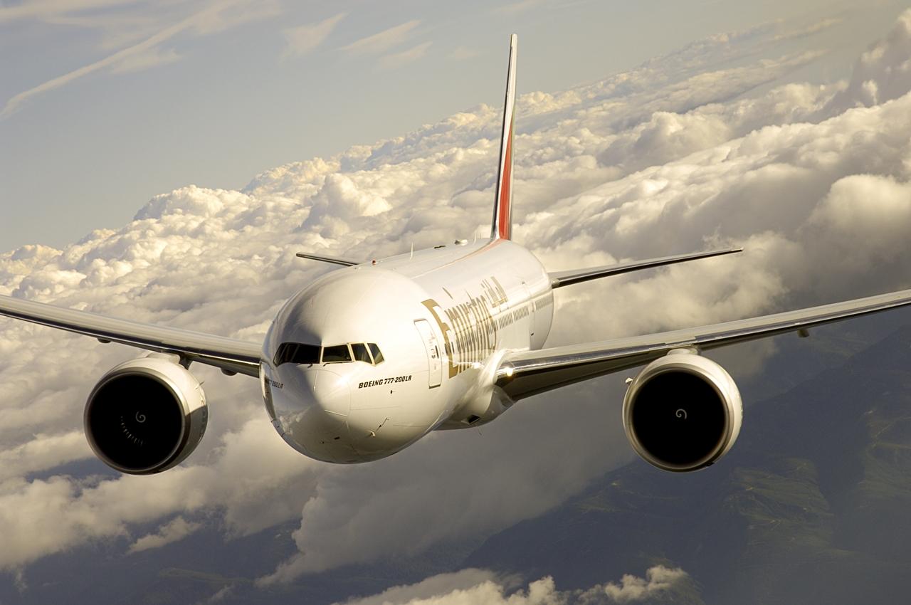 Az Emirates flottának jelenleg 10 darab Boeing 777-200LR áll rendelkezésre. (Fotó: Emirates)   © AIRportal.hu