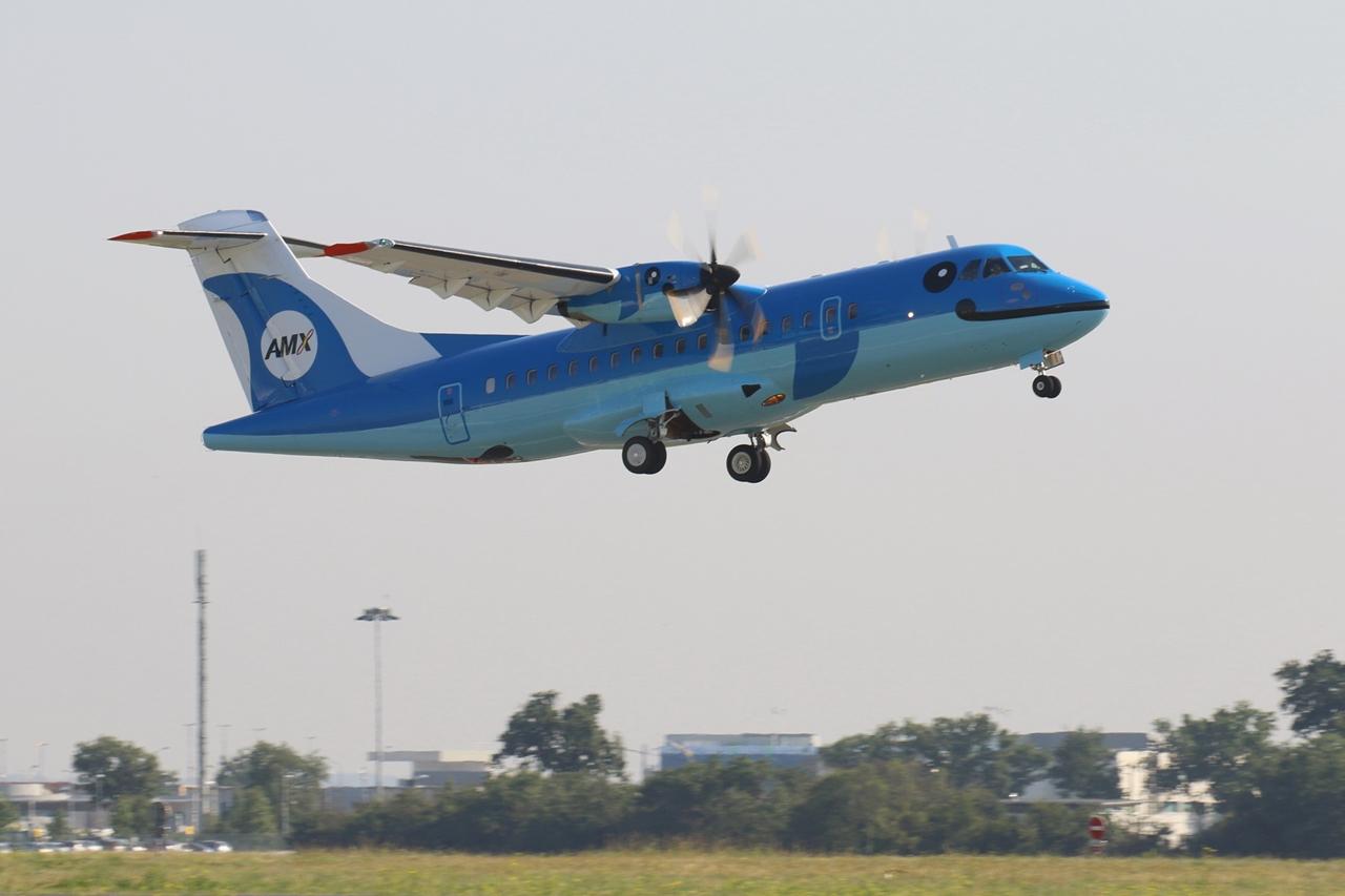 Az Amakusa Airlines első és egyelőre egyetlen ATR gépe. (Fotó: ATR Aircraft) | © AIRportal.hu