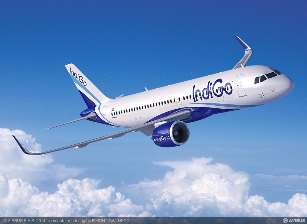 A320neo látványterv IndiGo színekben. (Forrás: Airbus) | © AIRportal.hu