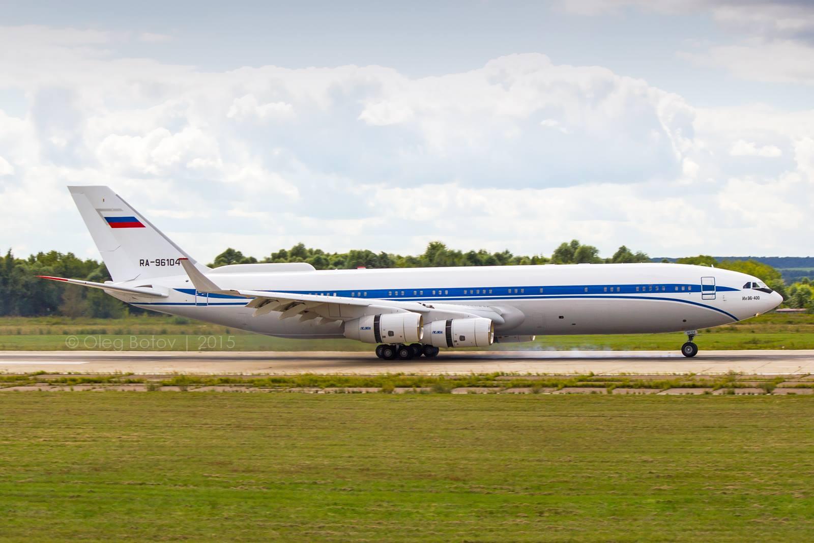 Jelentősen átalakult a teherszállító Il-96-os. (Fotó: Oleg Botov - a szerző engedélyével.) | © AIRportal.hu