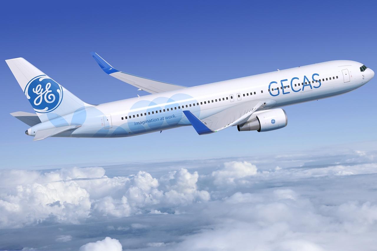 GECAS Boeing 767-300ER computer grafika. Az Icelandair-hez érkezett valódi 767-es nem wingletes. (Forrás: GECAS) | © AIRportal.hu