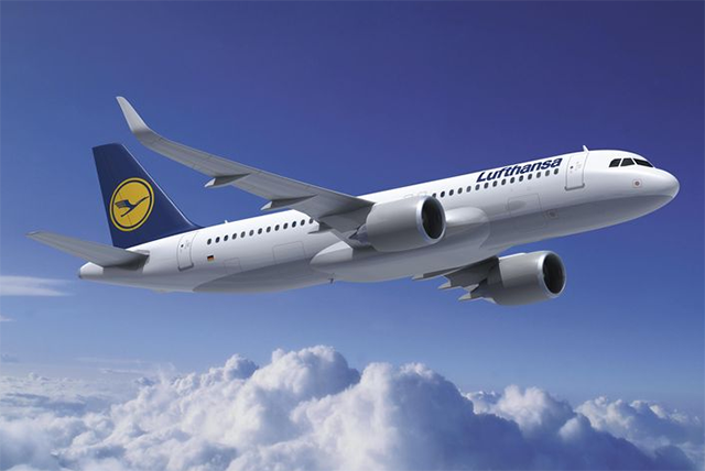 Lufthansa A320neo (Grafika: Airbus) | © AIRportal.hu