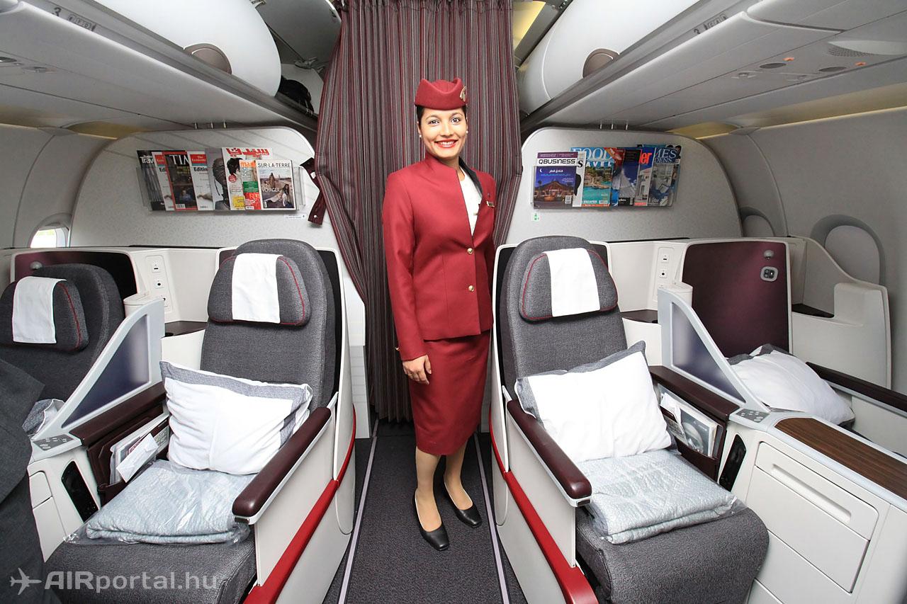 A mai legkorszerűbb business osztályú ülés Airbus A320-ason.Fotó: Csemniczky Kristóf - AIRportal.hu | © AIRportal.hu