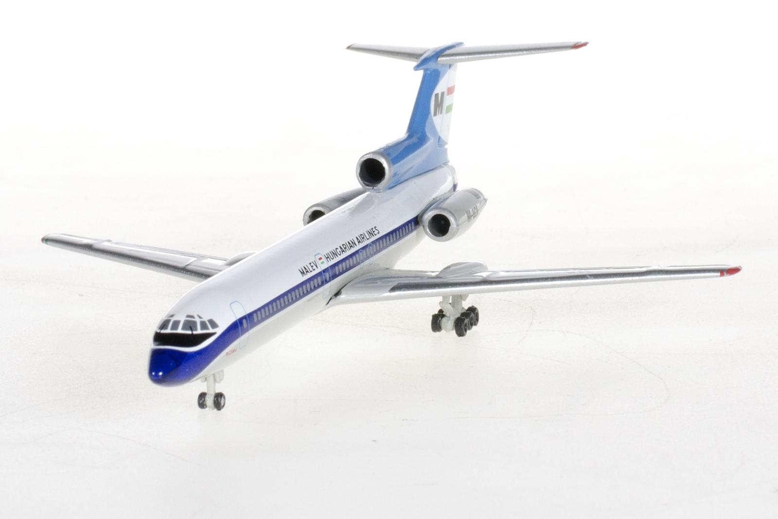 A Herpa-féle 1:500-as Malév Tu-154-es gyártó által ajánlott kereskedelmi ára 25 euro. (Fotó: Herpa Wings) | © AIRportal.hu