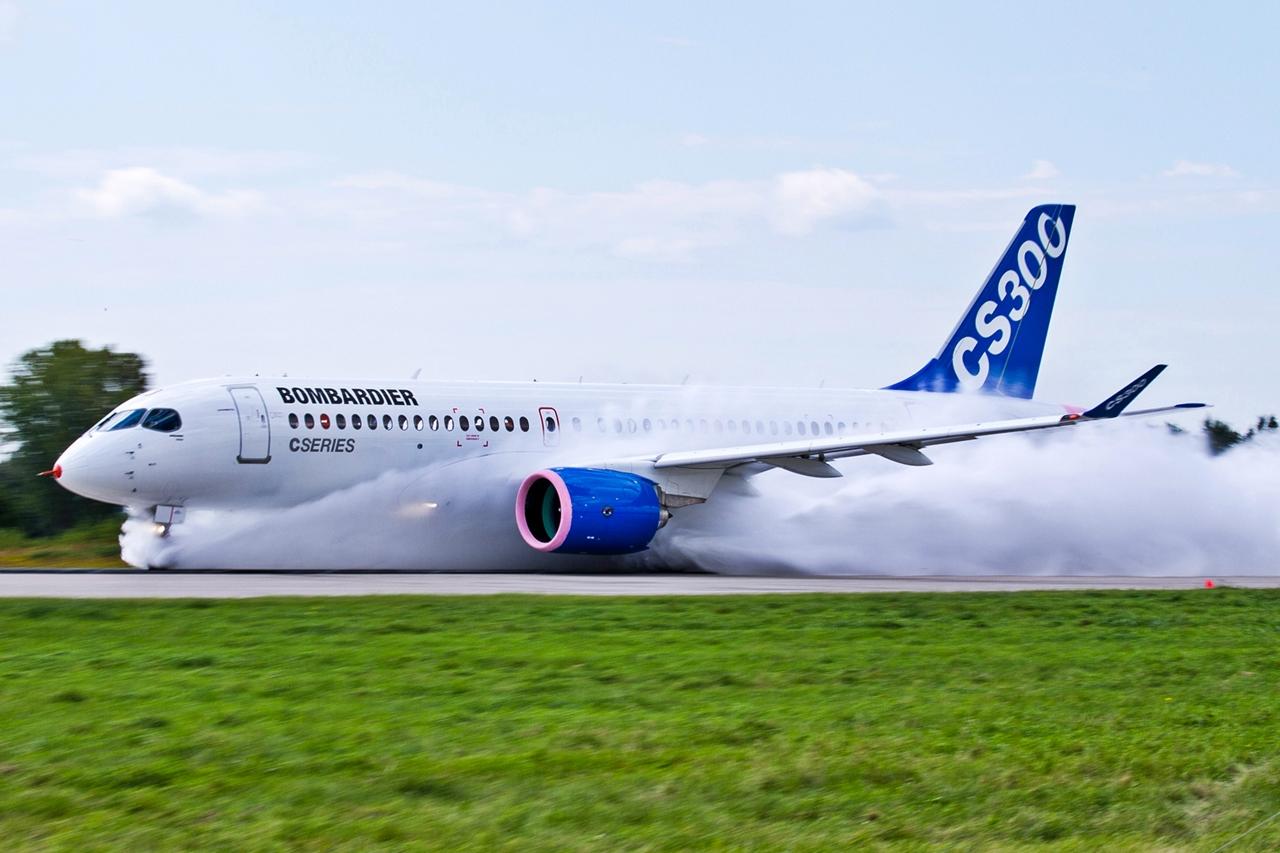 A teszteket a hosszabb törzsű CS300-as prototípusával végezték. (Fotó: Bombardier Aerospace) | © AIRportal.hu