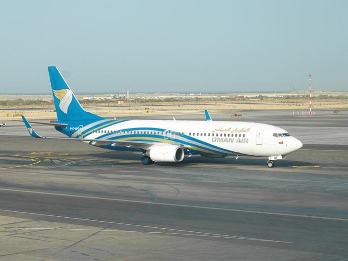 A flotta egyik aktív, wingletes Boeing 737-800-asa. (Fotó: Oman Air) | © AIRportal.hu