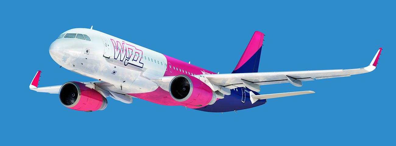 Airbus A320-as a Wizz Air új festésében (Forrás: Wizz Air) | © AIRportal.hu