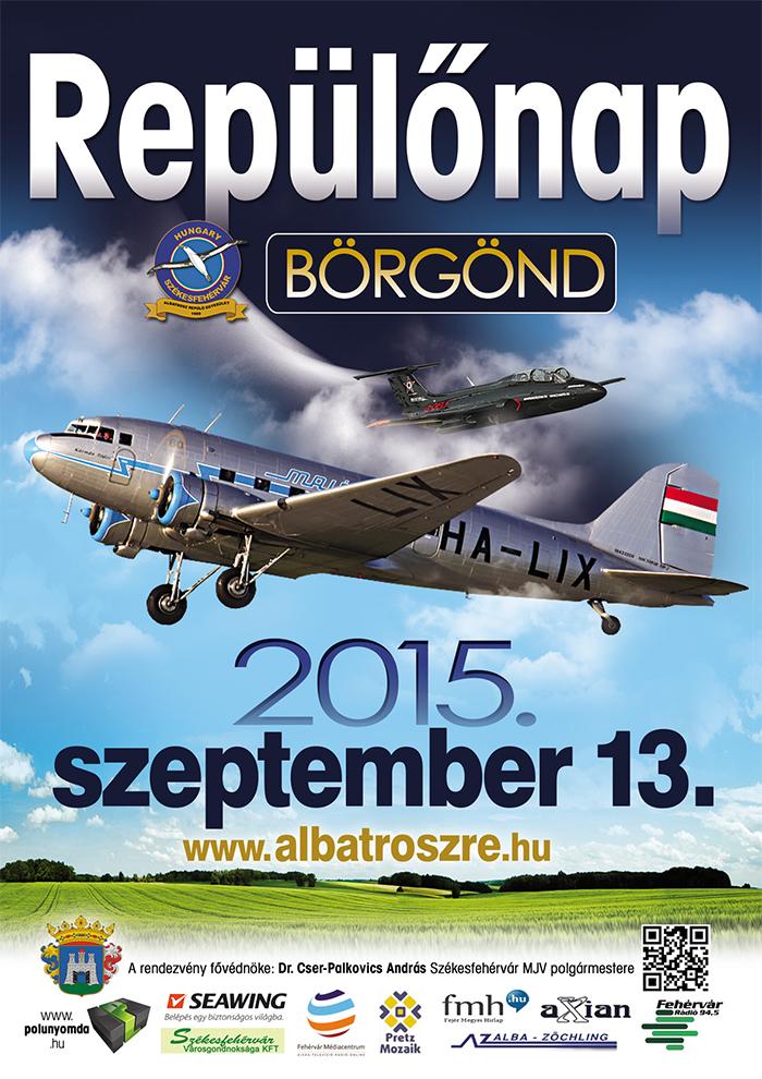 A repülőnap plakátja. | © AIRportal.hu