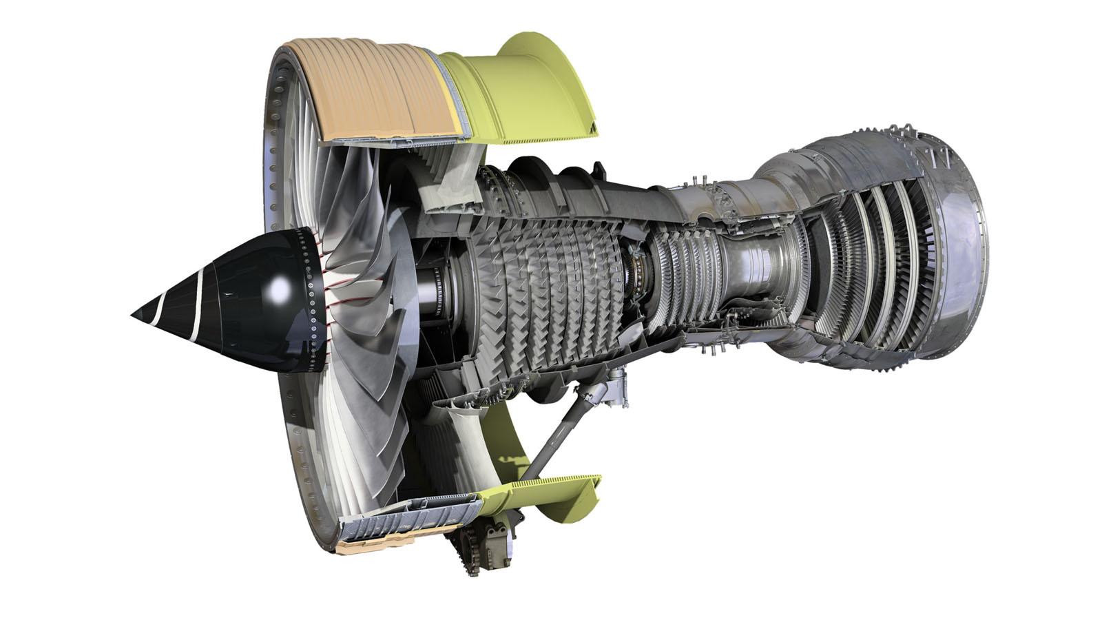 A választott Trent 700-as szerkezeti rajza. (Forrás: Rolls-Royce) | © AIRportal.hu