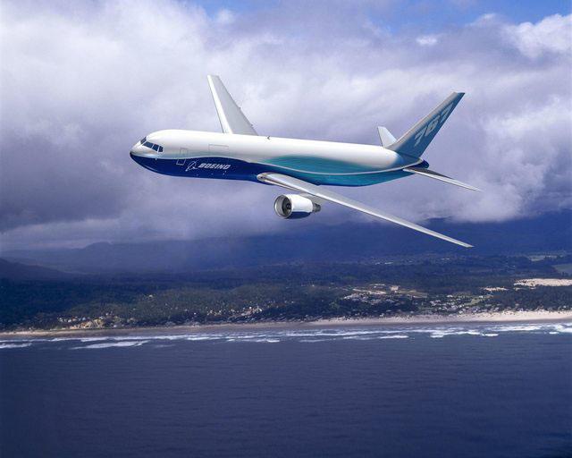 Boeing 767-300F gyári fotón. (Forrás: Boeing Company) | © AIRportal.hu