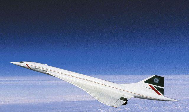 A Concorde maximális repülési magassága 18 ezer méter volt. (Fotó: British Airways)   © AIRportal.hu