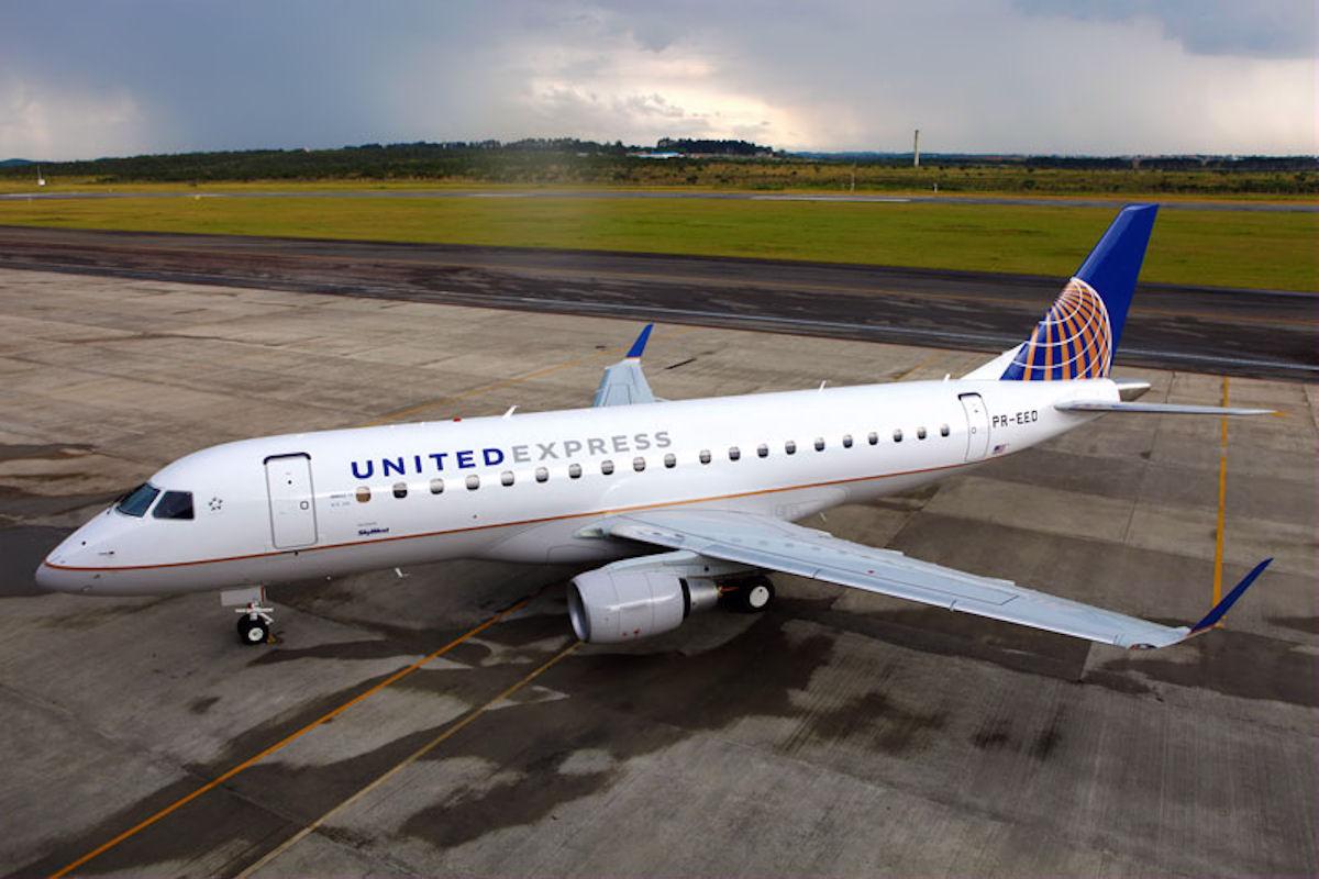 United Express E-175. (Fotó: Embraer) | © AIRportal.hu