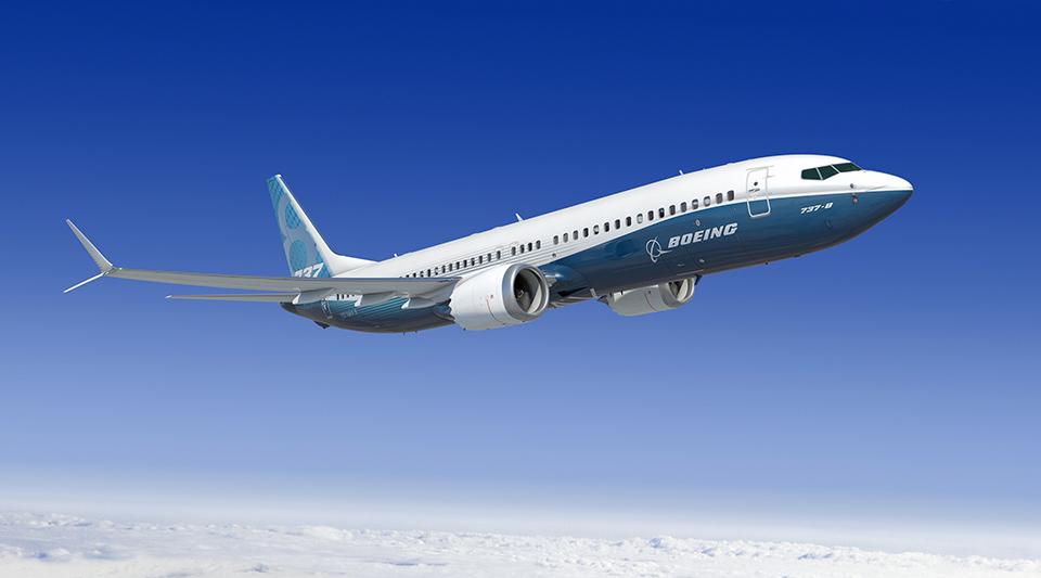 Boeing 737 MAX-8 látványterven.(Forrás: Boeing Company)   © AIRportal.hu