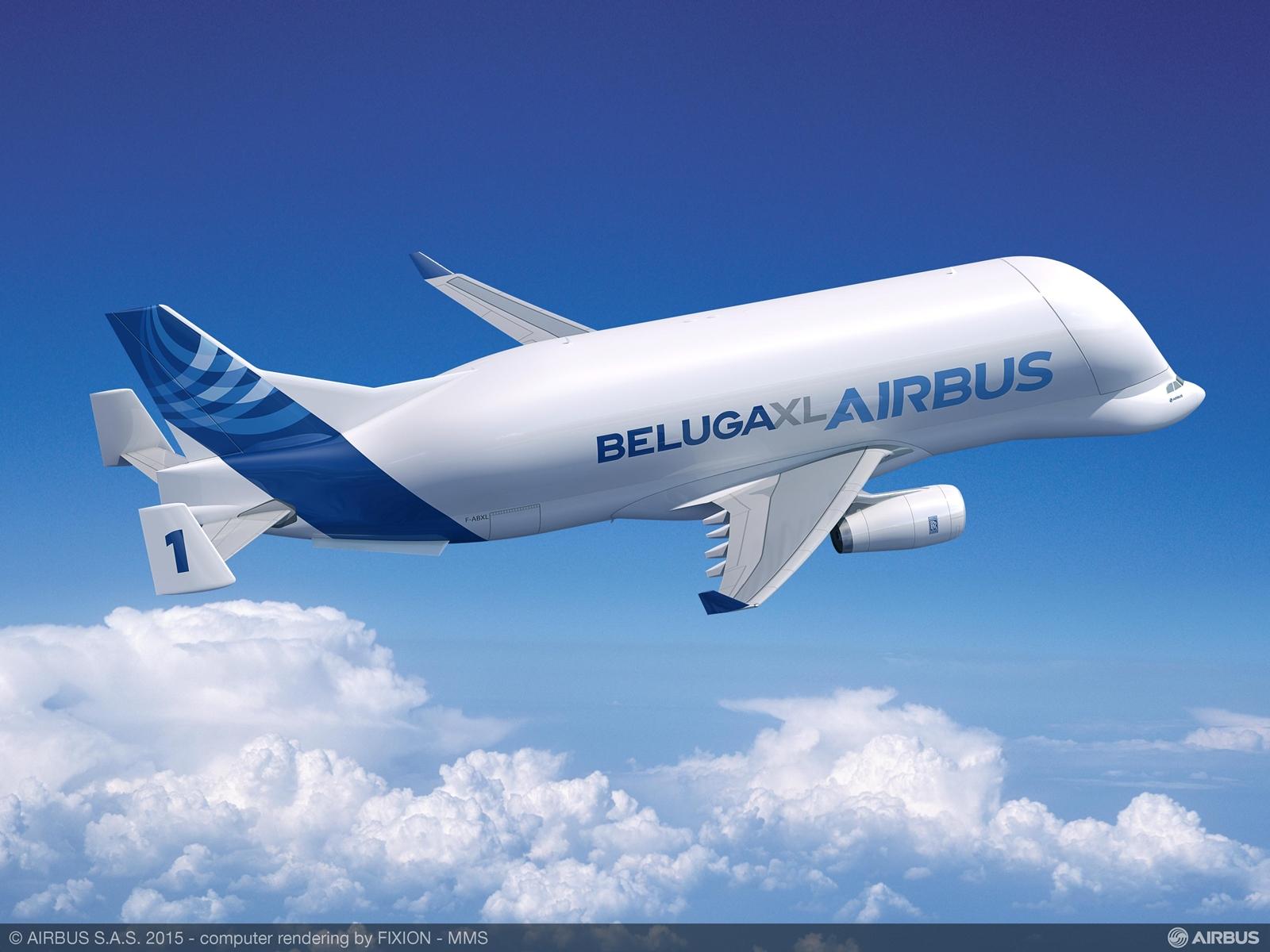A legfrissebb, szeptemberi Beluga XL látványterv. (Forrás: Airbus) | © AIRportal.hu