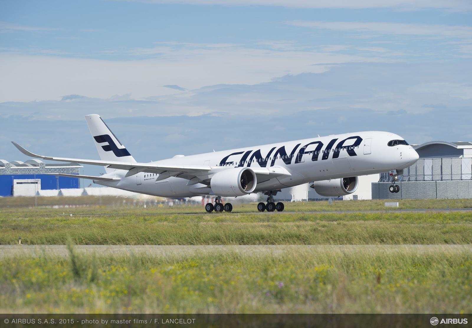 Az orr-futó elemelésének pillanata. (Fotó: Airbus) | © AIRportal.hu