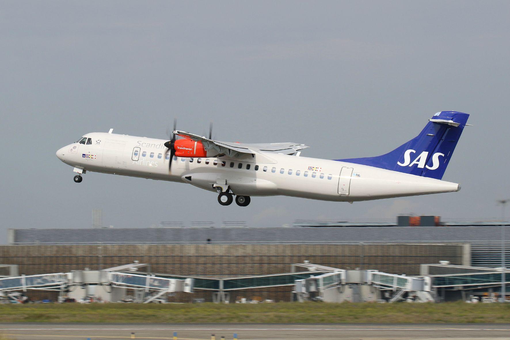 A SAS szolgálatába álló első Flybe ATR 72-600-as. (Fotó: ATR Aircraft) | © AIRportal.hu