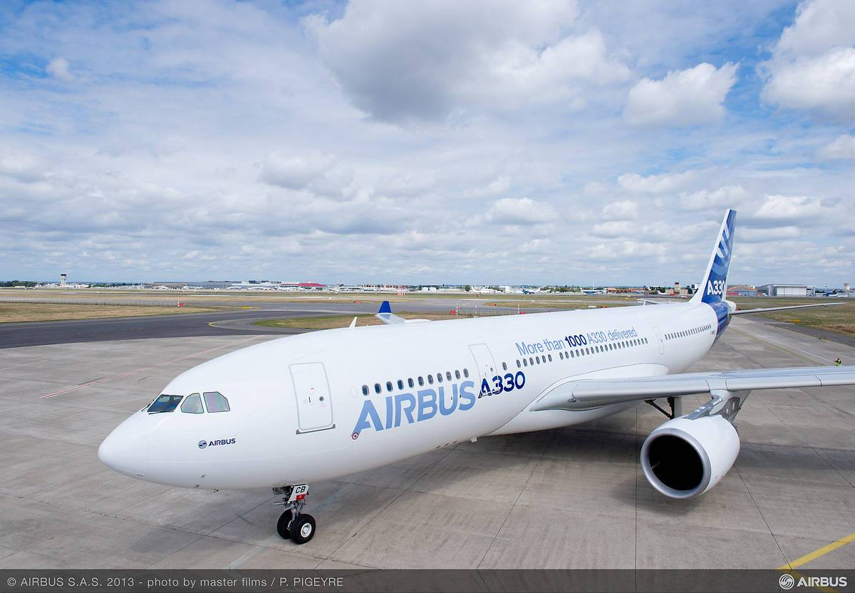Az Airbus berepülő flottájának egyik A330-asa. (Fotó: Airbus)   © AIRportal.hu