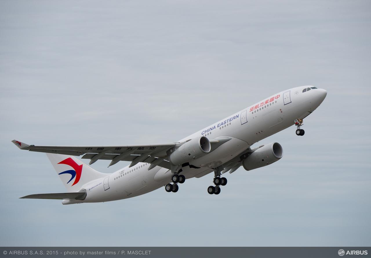 A China Eastern szeptember 18-án ünnepélyesen átvett legújabb A330-asa. (Fotó: Airbus) | © AIRportal.hu
