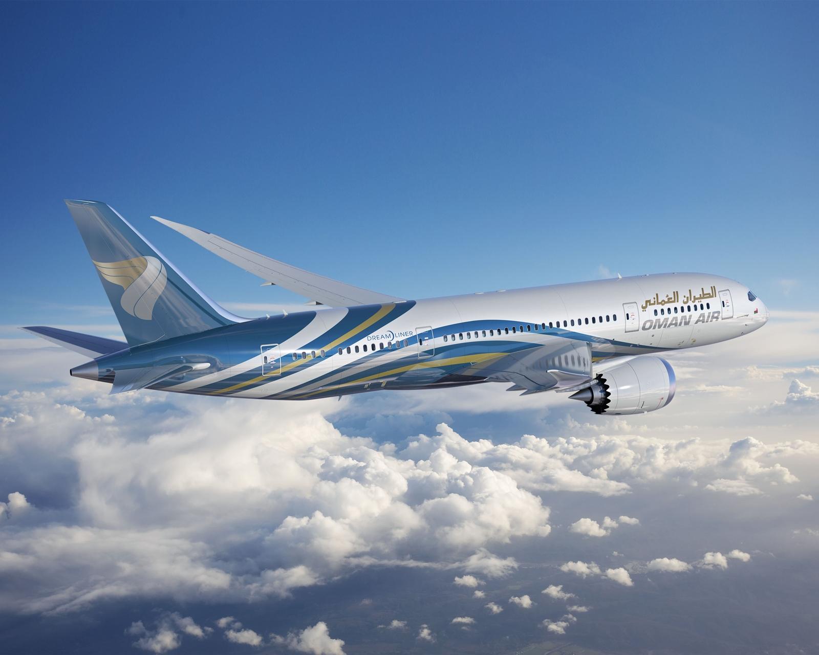 Az Oman Air Dreamlinerei sokak szerint az egyik legszebb festésű 787-esek lesznek. (Computer grafika: Boeing Company) | © AIRportal.hu