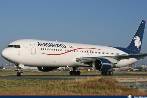 Aeroméxico Boeing 767-300ER a típuson használt legutóbbi festésmintában. (Fotó: Aeroméxico)   © AIRportal.hu