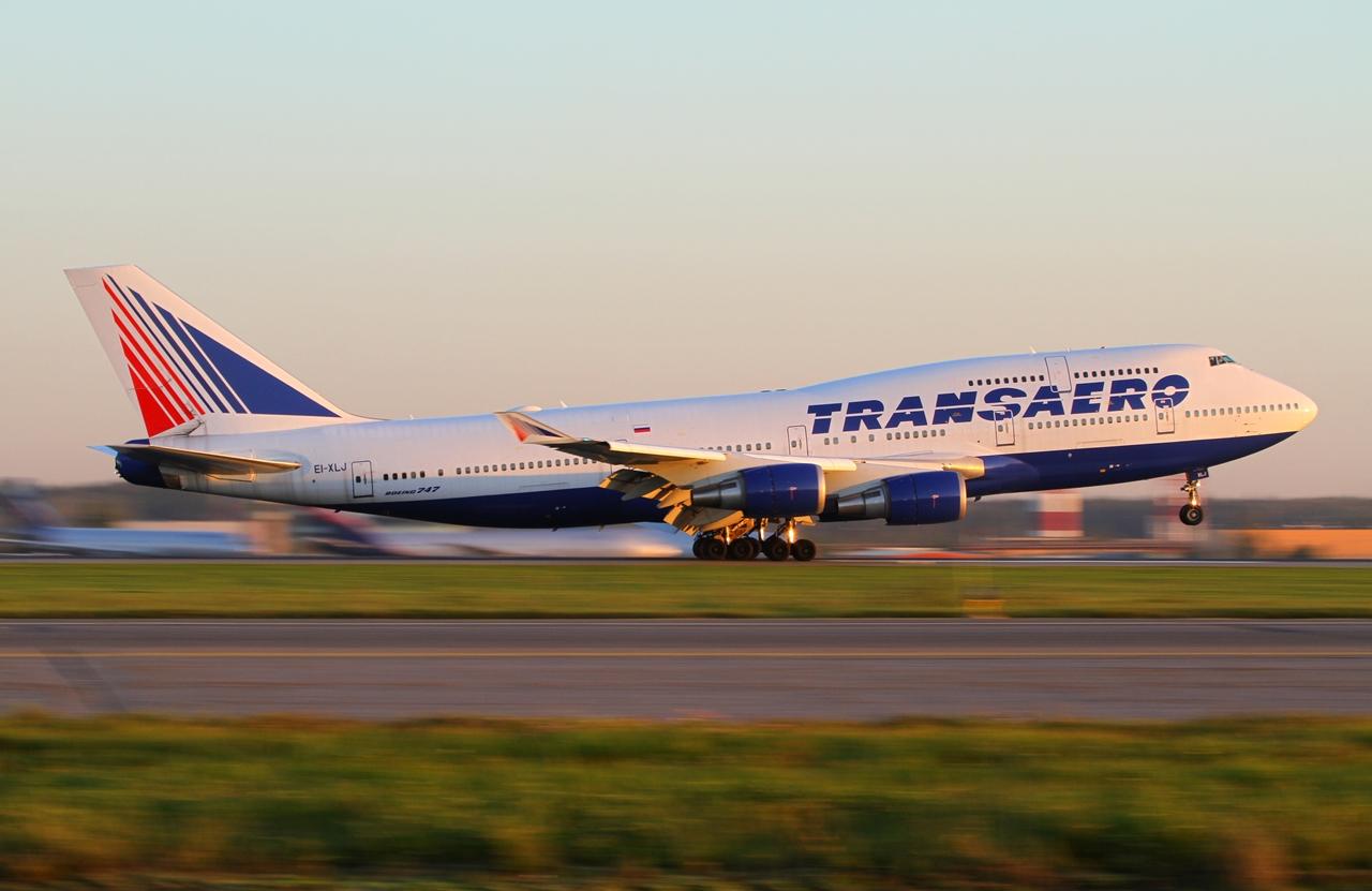 A flotta egyik Boeing 747-400-asa. (Fotó: Transaero Airlines) | © AIRportal.hu