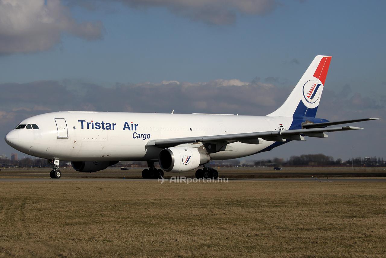 Kép a balesetet szenvedett repülőgépről. (Fotó: AIRportal.hu, Amszterdam, 2010.) | © AIRportal.hu