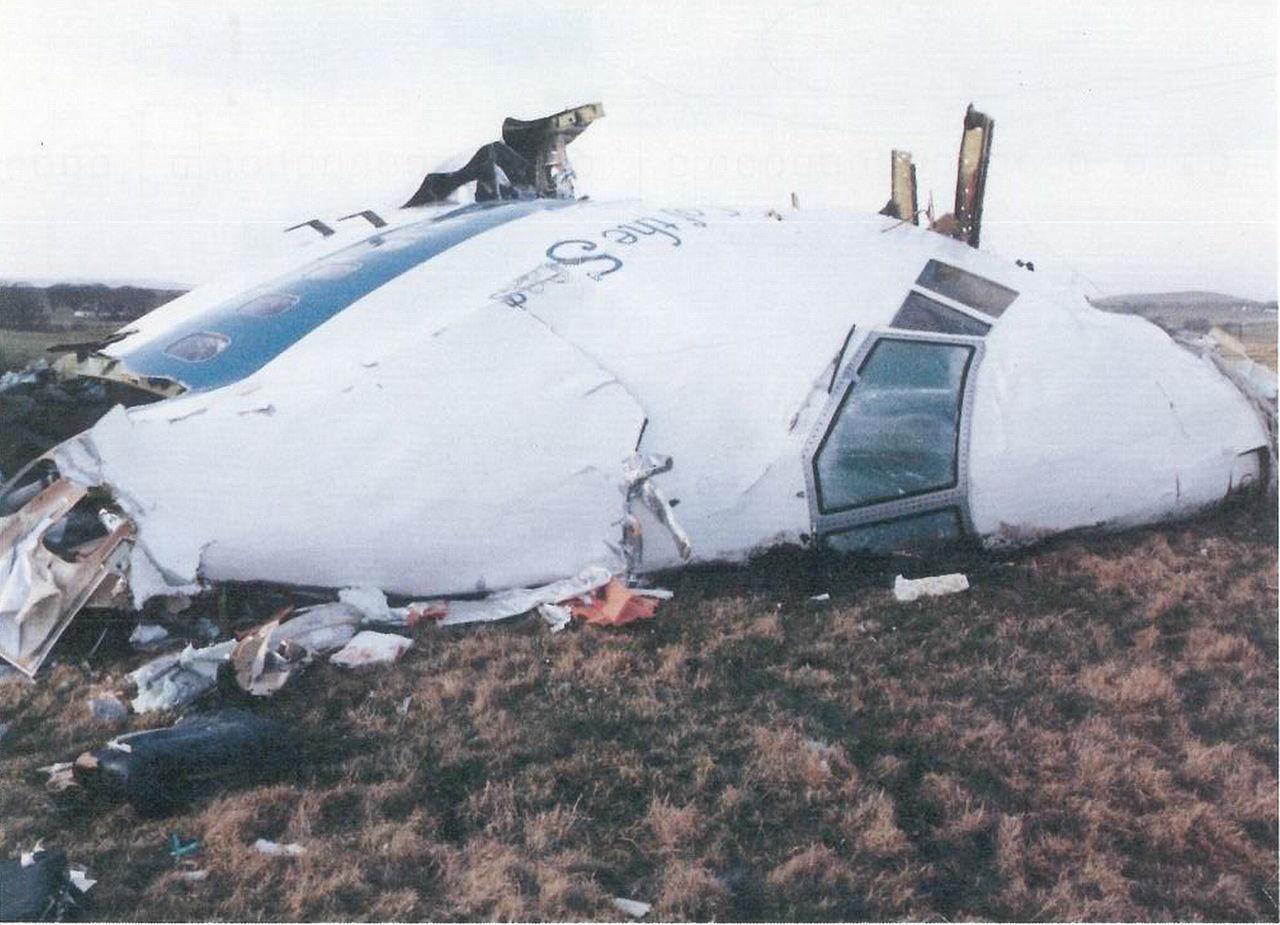 Fotó a felrobbantott Boeing 747-es megmaradt roncsairól. (Forrás: Wikimedia) | © AIRportal.hu