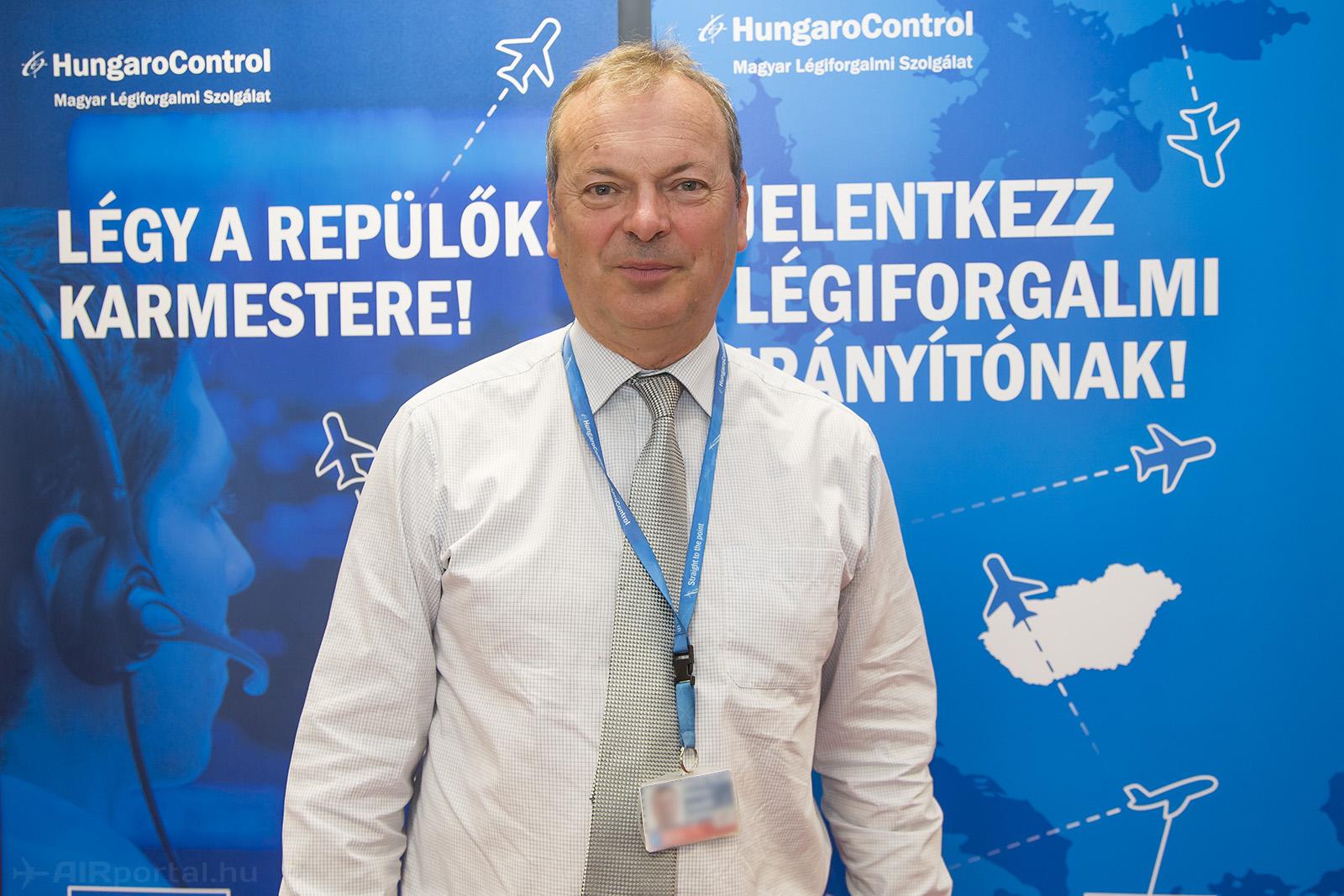 Bakos József, a HungaroControl légiforgalmi főosztályvezetője. (Fotó: AIRportal.hu) | © AIRportal.hu