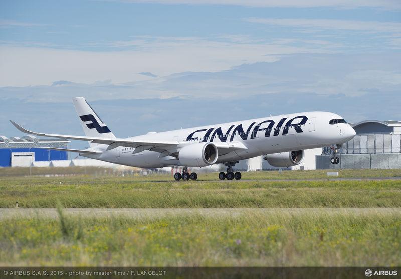 Az Airbus A350-900-asa a Finnair színeiben. Fotó: Airbus   © AIRportal.hu