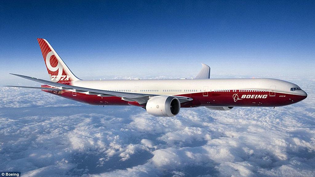 A nagy rivális Boeing 777-9X. Fotó: Boeing   © AIRportal.hu