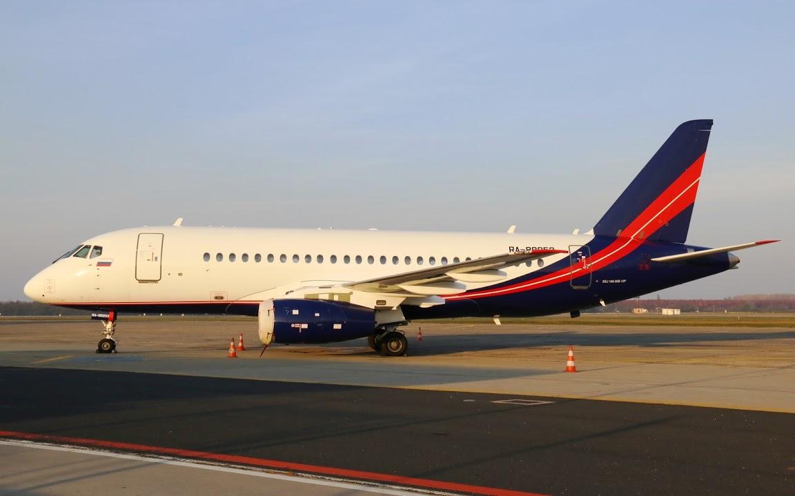 VIP Superjet Ferihegyen - További képek fotógalériánkban!  (Forrás: Budapest Airport)   © AIRportal.hu