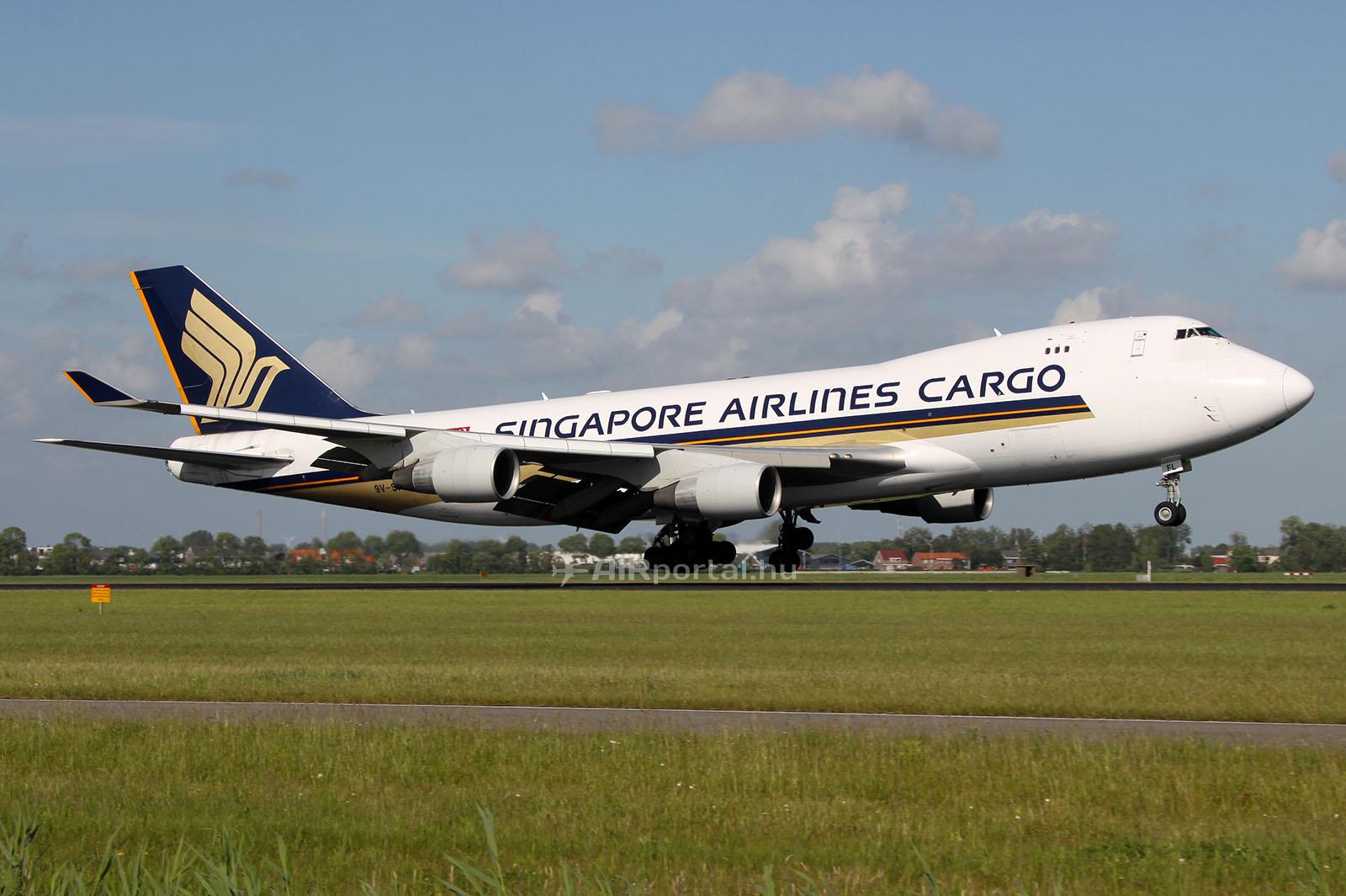 A Singapore Airlines Cargo Boeing 747-400-as repülőgépe. (Fotó AIRportal.hu) | © AIRportal.hu