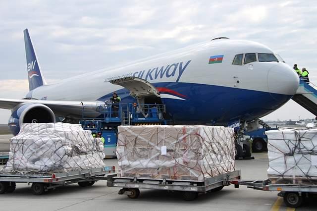 A SilkWay Airlines egyik Boeing 767-300F típusú gépe Budapesten. Képünk illusztráció. (Fotó: AIRportal.hu)   © AIRportal.hu