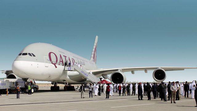 A Qatar Airways A380-asa. Még 1570 szélestörzsű gép érkezhet a Közel-Keletre (Fotó: Qatar Airways) | © AIRportal.hu