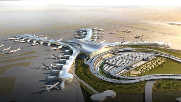 Így fog kinézni az Abu Dhabi Nemzetközi Repülőtér Midfield terminálja   © AIRportal.hu