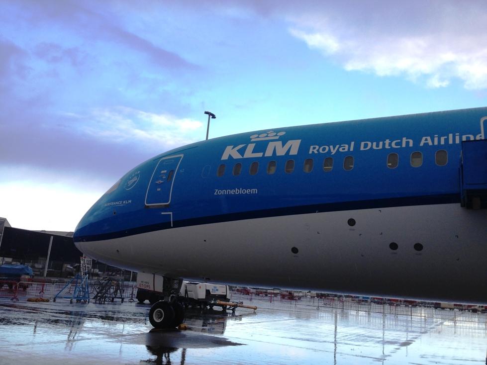 Zonnebloem (magyarul napraforgó) lett az első Dreamliner neve | © AIRportal.hu
