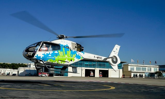 Az Airbus Helicopters H120-as tesztgépe. (Fotó: Airbus Helicopters) | © AIRportal.hu