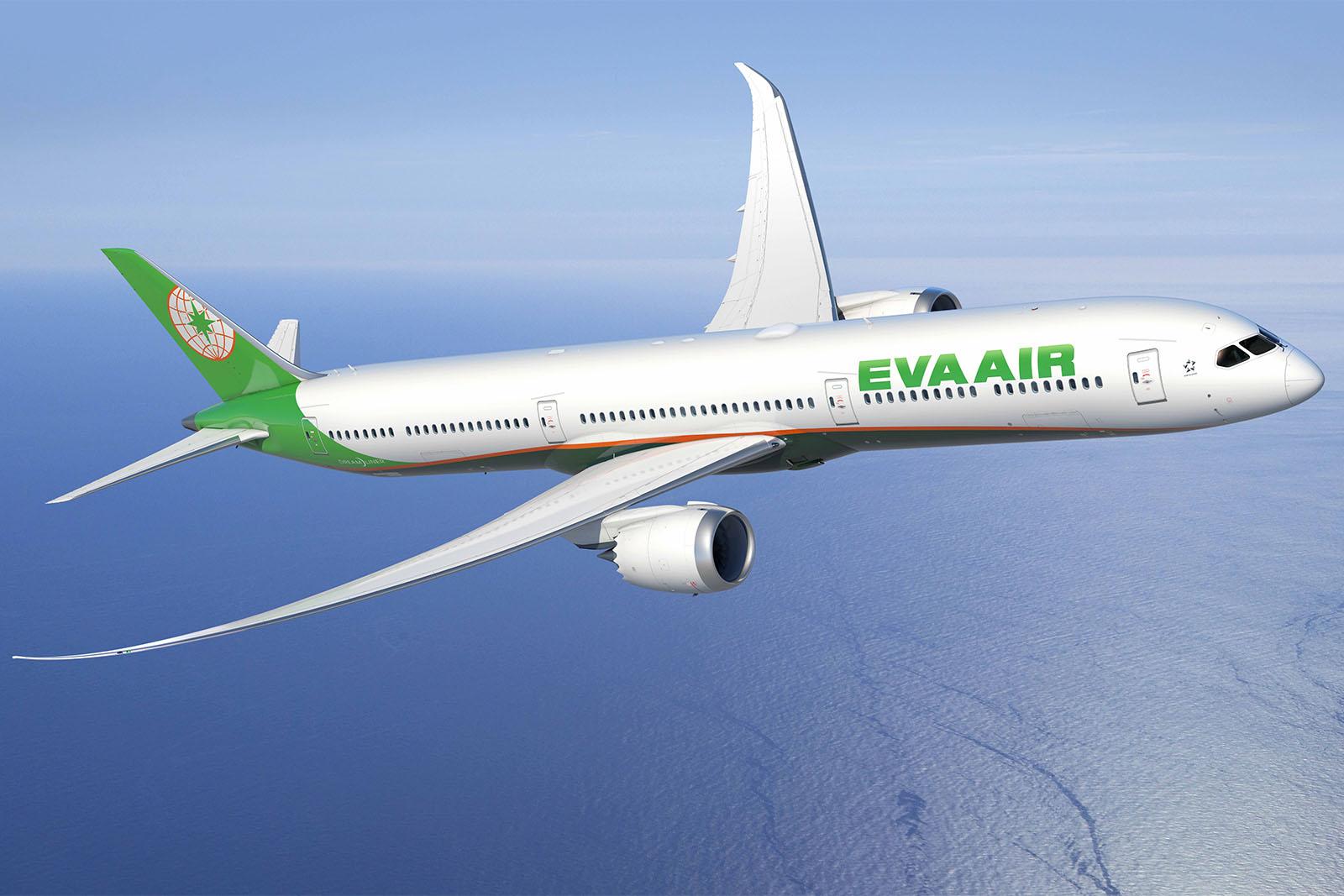 Boeing 787-10 Dreamliner látványterv (Forrás: EVA Airways) | © AIRportal.hu