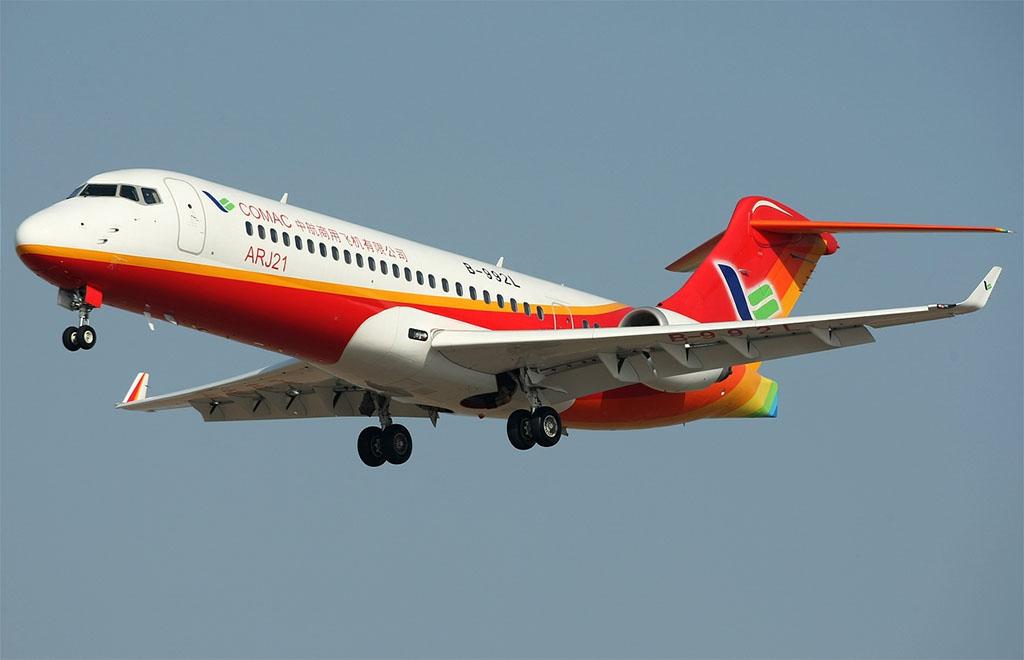 Az ARJ21 (Fotó: COMAC) | © AIRportal.hu