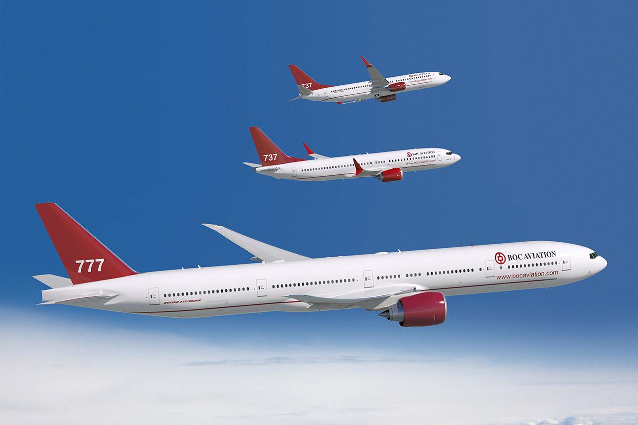 A BOC által jelenleg rendelés alatt álló Boeing repülőgépek. (Fotó: Boeing Company) | © AIRportal.hu