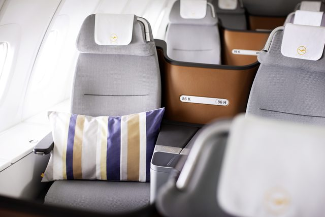 Az új business class. (Fotó: Lufthansa) | © AIRportal.hu