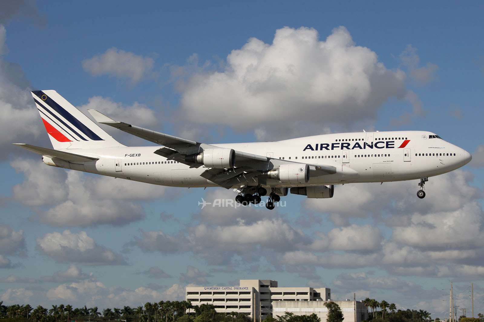 Az Air France egyik Boeing 747-ese. (Fotó: AIRportal.hu) | © AIRportal.hu