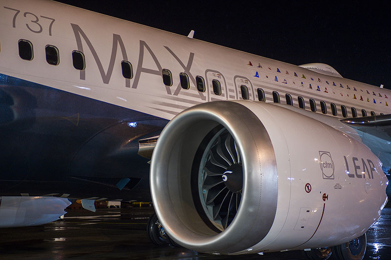 A CFM LEAP-1B hajtómű.   © AIRportal.hu