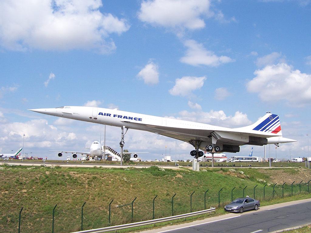 Az F-BVFF lajstromjelű Concorde a Charles de Gaulle repülőtéren   © AIRportal.hu