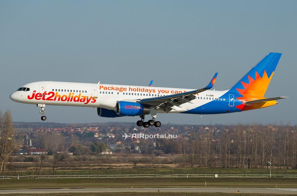 A Jet2 egyik Boeing 757-ese. Képünk illustráció.