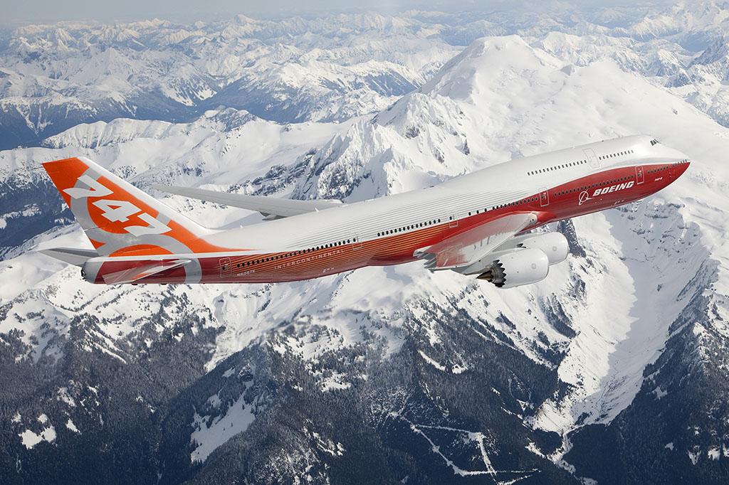 A 747-8I (utasszállító változat) 2011. márciusában teljesítette első repülését, összesen 39 darab repül a típusból. (Fotó: Boeing) | © AIRportal.hu