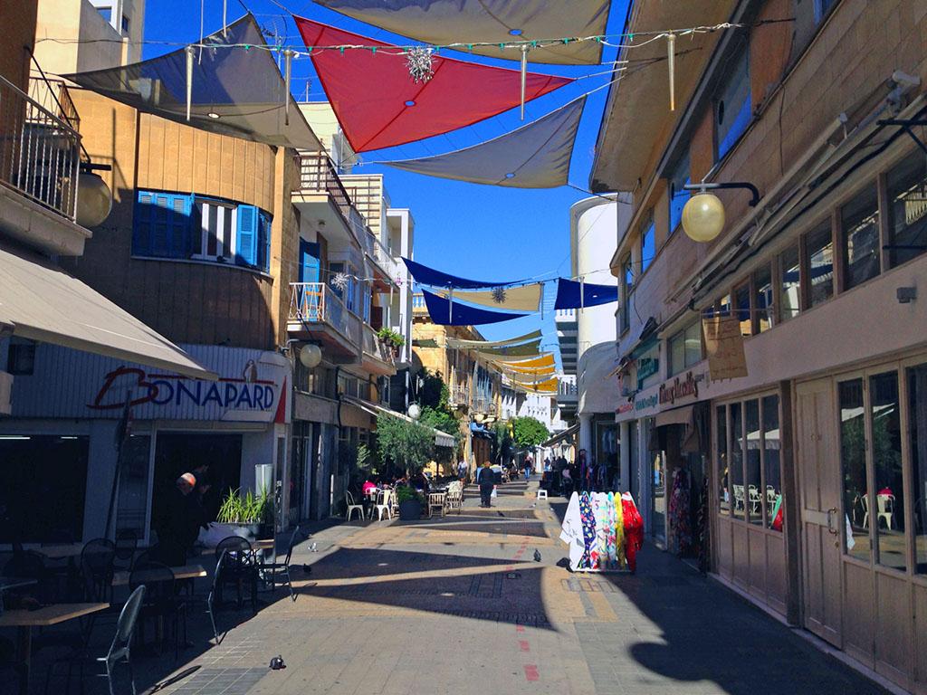Nicosia belvárosa csak sétálóutcából áll   © AIRportal.hu