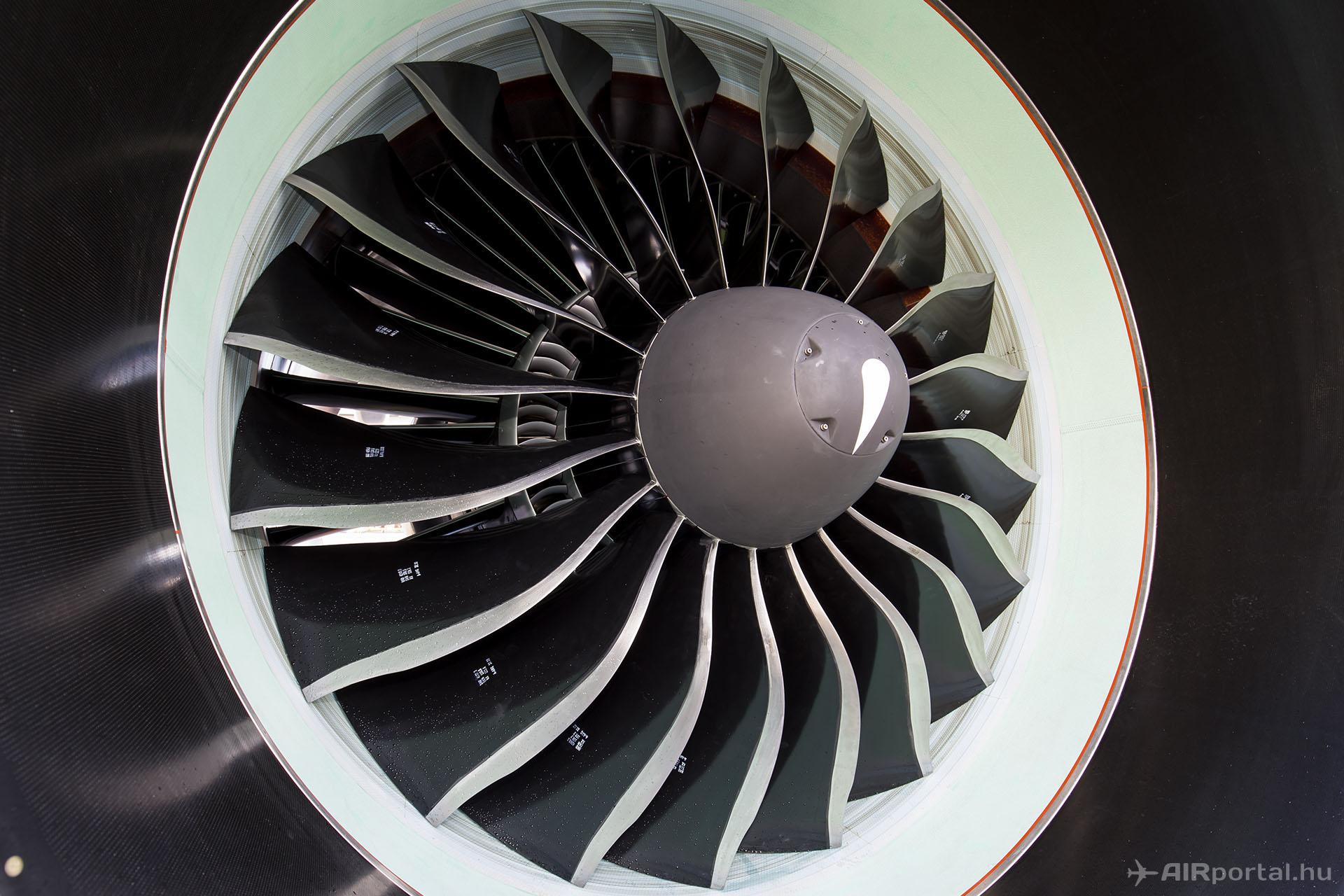 PW1100G-JM 206 centiméteres átmérővel. Meggyőző. | © AIRportal.hu